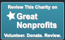 Review this charity on Great Nonprofits